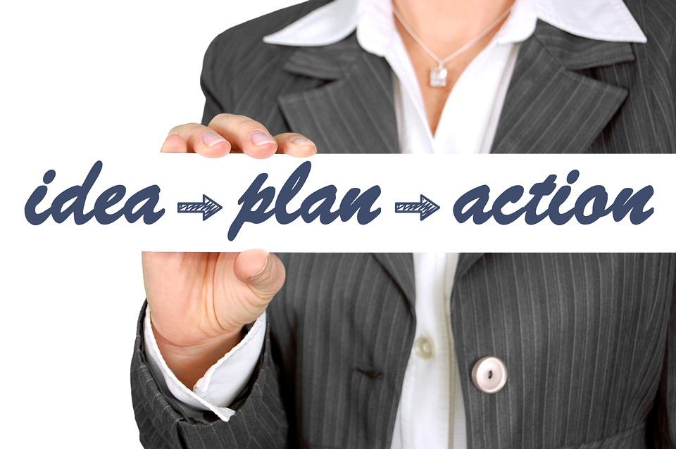 idea -> plan -> accion