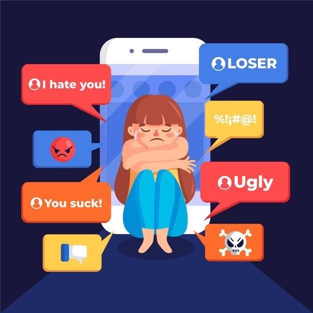 niña ciberbullying