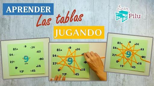 aprender jugando tablas de multiplicar