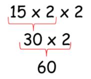 aprende tabla de multiplicar 4 metodo 2