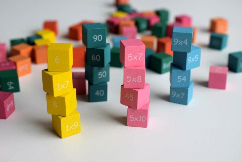 tablas de multiplicar 8